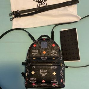 Brand New MCM Xmini Backpack